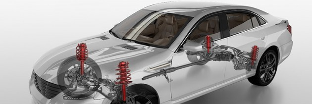 Amortizoarele unei masini – despre rolul si defectiunile acestora